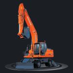 Экскаватор Doosan DX 210 W