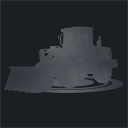Фронтальный погрузчик XCMG LW300F с челюстным захватом
