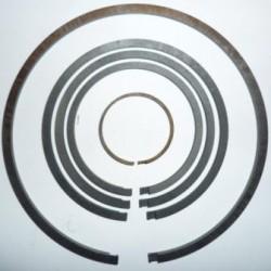Комплект уплотнительных колец ГТР 106мм (чугунное и углепластовое кольцо)