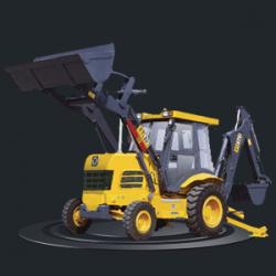 Экскаватор-погрузчик XCMG XT870